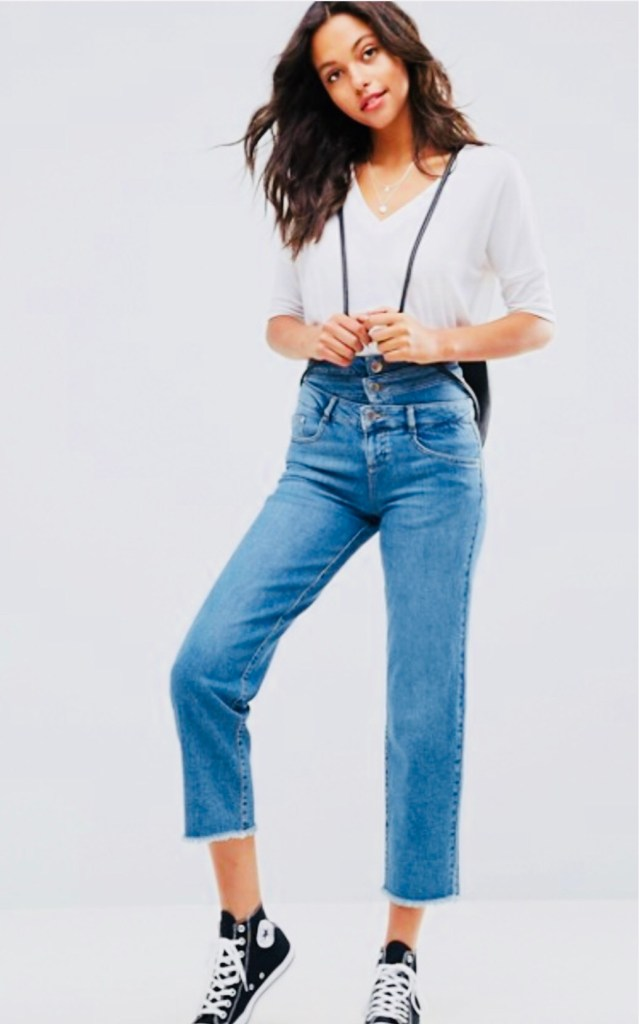 triple waistband jeans