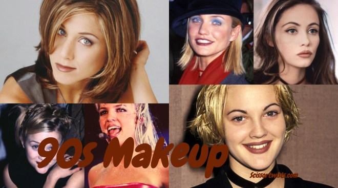 90s makeup
