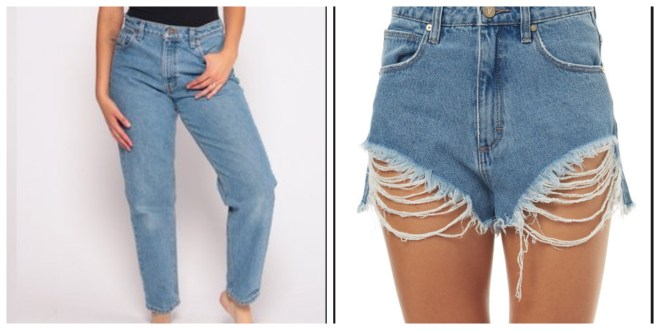 4807c3dd85 How To Cut Jeans Into Shorts Like a Pro - 4 Methods - Scissor Twists ...