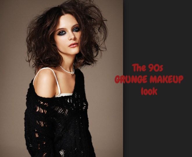 90s grunge makeup