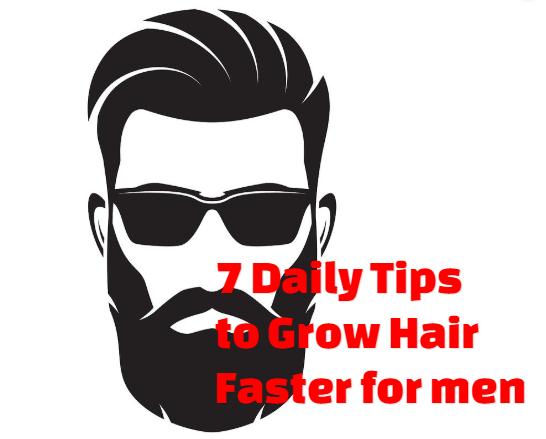 Grow Hair faster for men