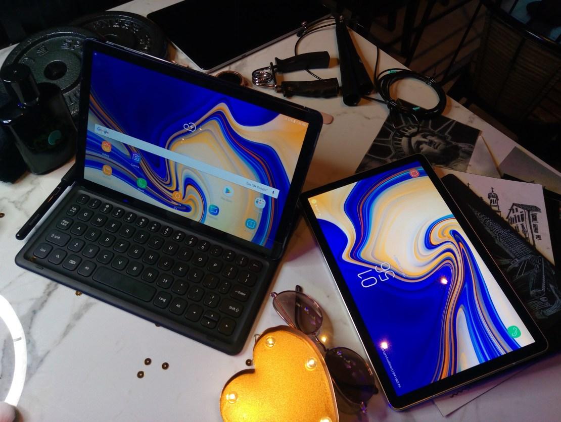 Samsung Galaxy Tab S4 and Tab A 10.5