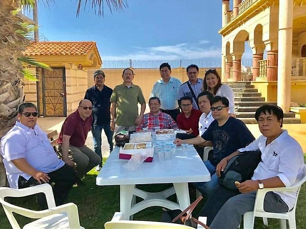 With Libya based OFWs