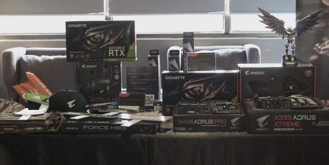 Special thanks to our sponsors, Aorus and Logitech.