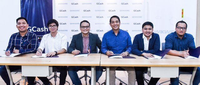 GCash and Qwikwire executives - Science and Digital News