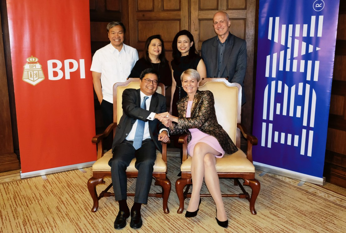 PI President and CEO Cezar Consing and IBM Asia Pacific Chairman and CEO Harriet Green Digital Transformation - Science and Digital News