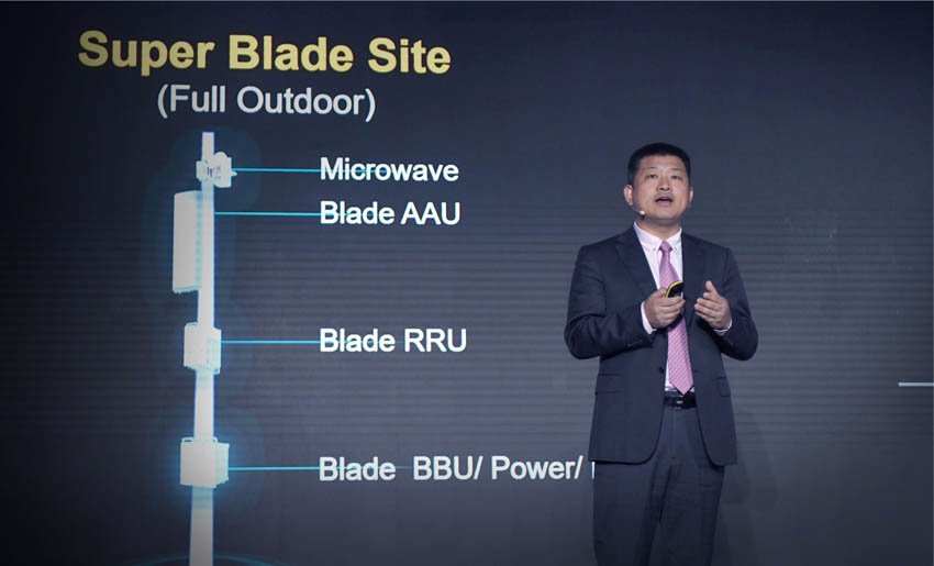 Huawei Peter Zhou is CMO of Huawei Wireless Soluion