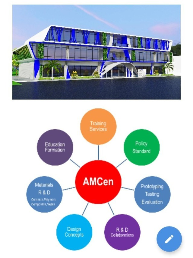 Proposed AMCen of DOST-PCIEERD