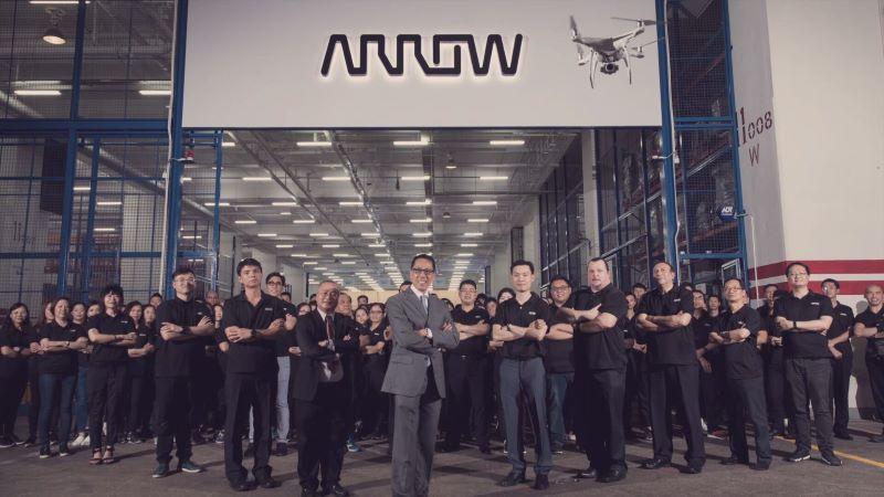 Arrow groupie