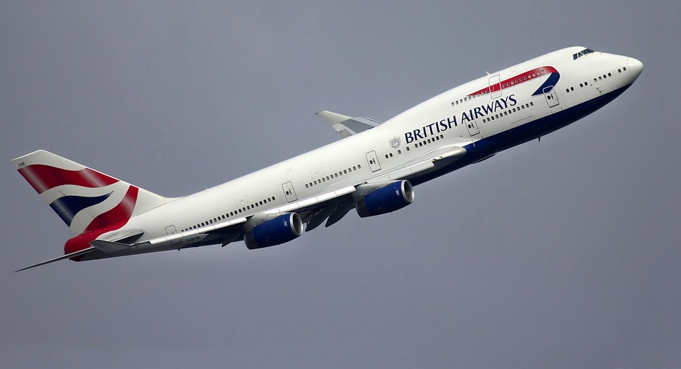 British Airways on Pixabay