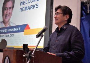 DICT Secretary Gregorio 'Gringo' B. Honasan III. (File photo)