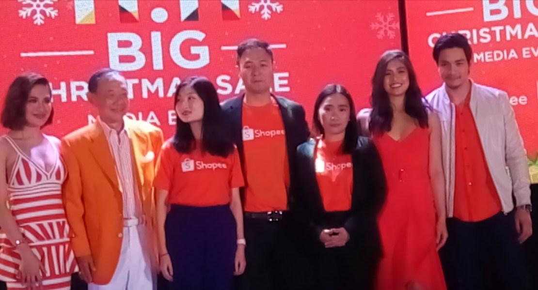 Shopee, Big Christmas Sale, Big TV Special, 2019, GMA7, 11.11