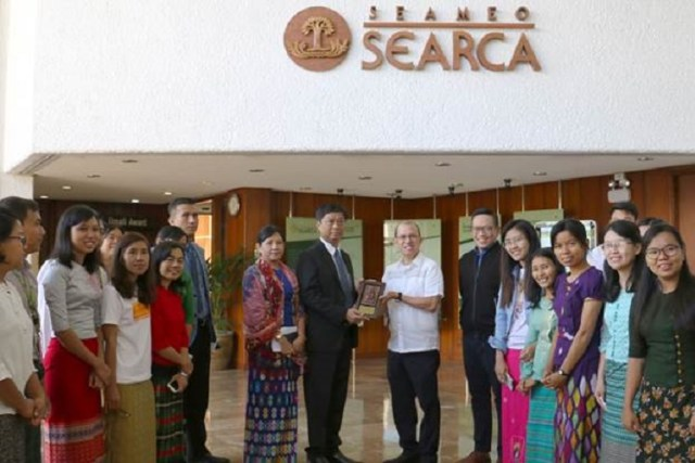 Myanmar, SEARCA, scholarships, students, UPLB, thanks