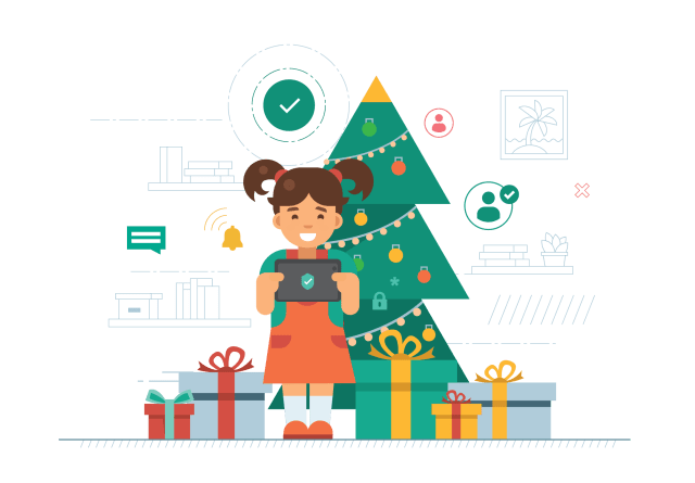 Kaspersky, tips, holiday, cheer, safety