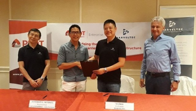 PLDT Enterprise, MarvelTec, agreement, telecoms, network carrier