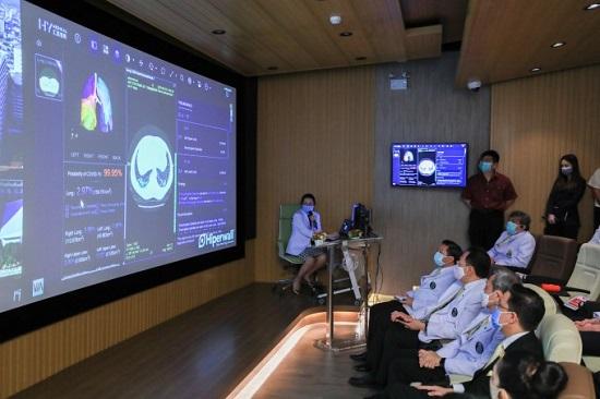 Huawei, Ai-assisted, Covid-19, pandemic, diagnosis, coronavirus