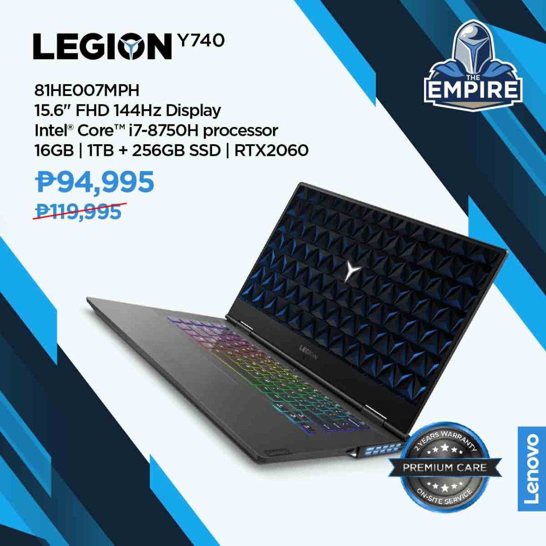 Lenovo, Legion, gamers, The Empire, League of Champions