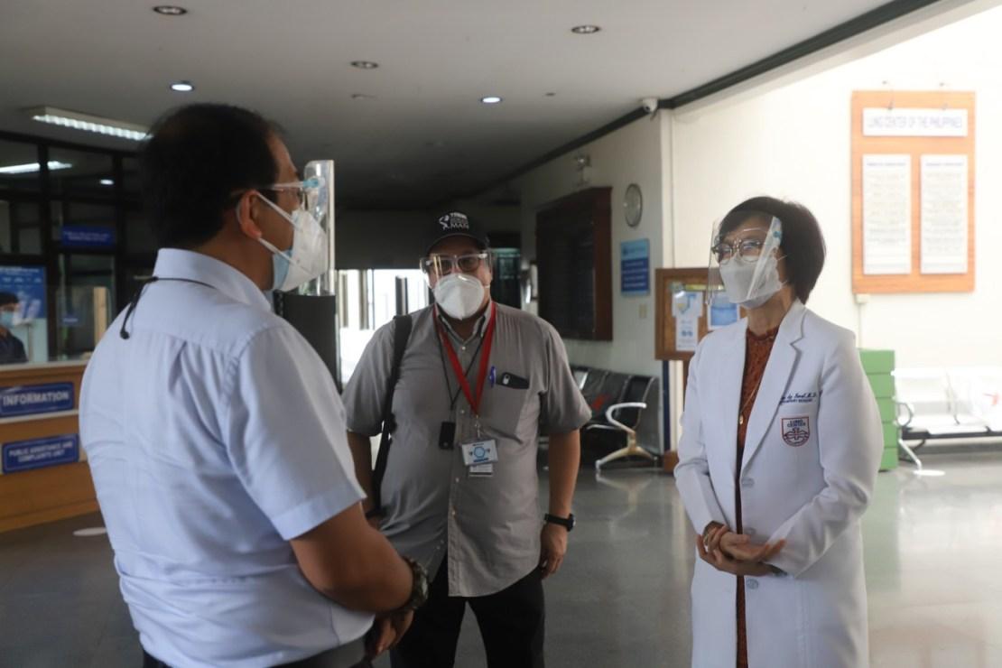 Visit to Metro Manila hospitals.