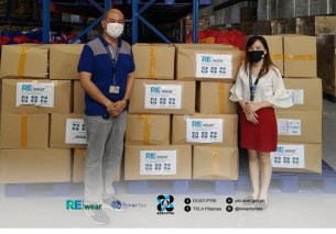 DOST provides REwear Face Masks to government agencies.