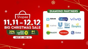 Shopee 11.11-12.12 Christmas Sale