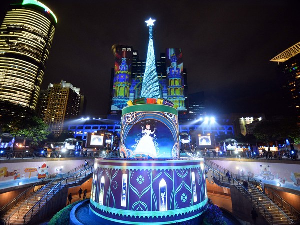 Disney's 3D projection mapping light show - A must-go event in Asia and Taiwan's top four events pioneered by New Taipei City.