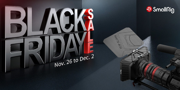 SmallRig Black Friday and Cyber Monday Sale