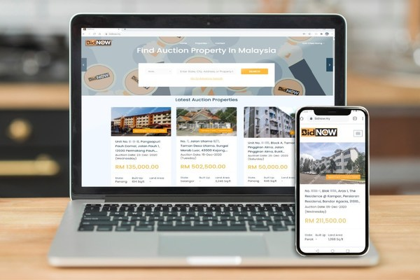 Find Auctioned Properties in Malaysia at Bidnow.my