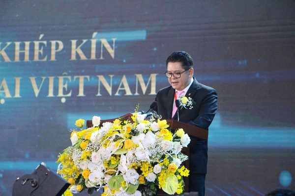Mr. Montri Suwanposri - General Director of CPV Vietnam Corporation has a speech at the the inauguration reports on project implementation progress. He also shared that with CP Group's strength and successful experience in poultry meat export for over 20 years, the closed chain project of poultry meat exports from Vietnam is implementing the mission of amount of Vietnamese food, contributing to bringing Vietnam on the world map of branded poultry meat exports.