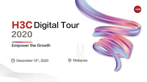 H3C Digital Tour 2020-Malaysia was launched on December 15 to promote engagement and empower the growth together with the customers and ecosystem partners in Malaysia.