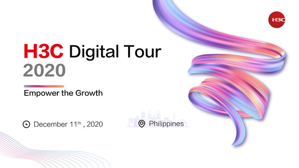 H3C Digital Tour 2020-Philippines was launched on December 11 to promote engagement and empower the growth together with the clients and ecosystem partners in the Philippines.