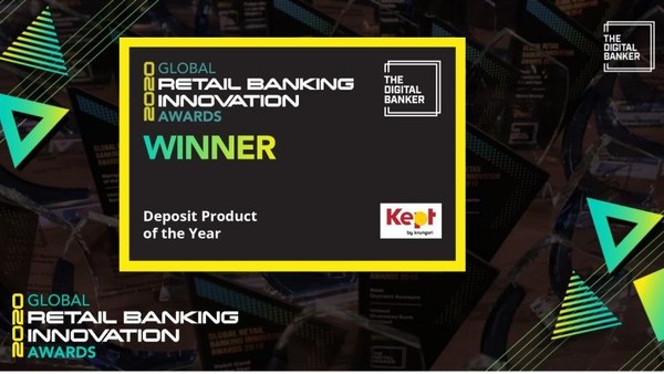 Krungsri named winner of the 'Deposit Product of the Year' at the 3rd Global Retail Banking Innovation Awards 2020.