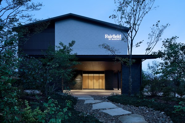 """The Fairfield by Marriott """"Michi-no-eki"""" project galvanized a major expansion of the Fairfield brand in Japan, with eight new hotels opened this year alongside Japan's national highway rest areas."""