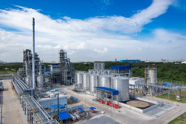 The plant built by Total Corbion PLA, a joint venture between French energy major Total and Dutch biochemical giant Corbion, in Rayong, in Thailand's Eastern Economic Corridor, is using locally-grown cane sugar to manufacture annually 75,000 tonnes of polylactic acid, or PLA, a 100 percent renewable and biodegradable bioplastic that can be used to replace polystyrene and other oil-based polymers while having a 75 percent smaller carbon footprint.