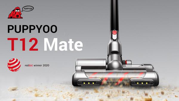 PUPPYOO's Smart Cordless Vacuum Cleaner T12 Mate