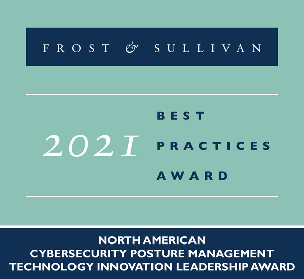 2021 North American Cybersecurity Posture Management Technology Innovation Leadership Award