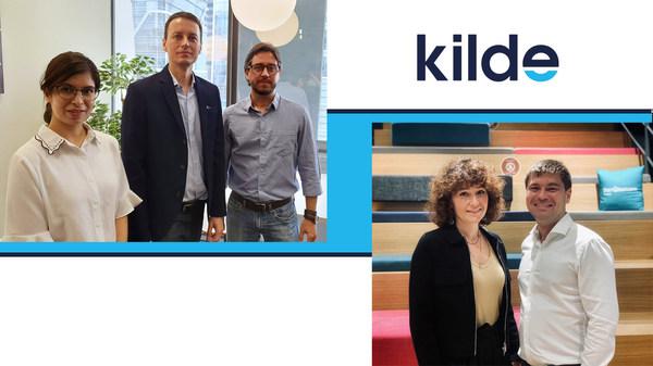 KILDE Team, from left Namrata Goswami, Radek Jezbera, Gustavo Leal, Aleksandra Yurchenko, Oleg Kryukovskiy