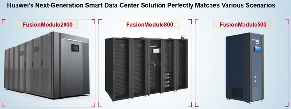 Huawei outlined a new, smart modular data center solution for small and edge computing scenarios, including three data center products - FusionModule2000, FusionModule800, and FusionModule500.