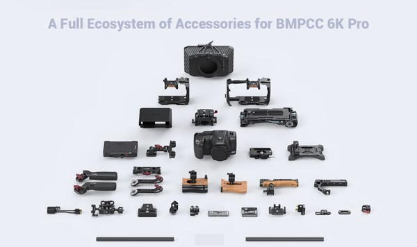 SmallRig Accessory Ecosystem for BMPCC 6K Pro