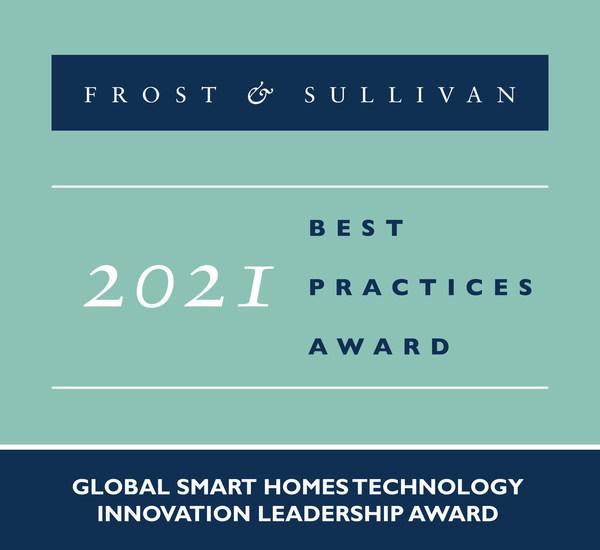 2021 Global Smart Homes Technology Innovation Leadership Award