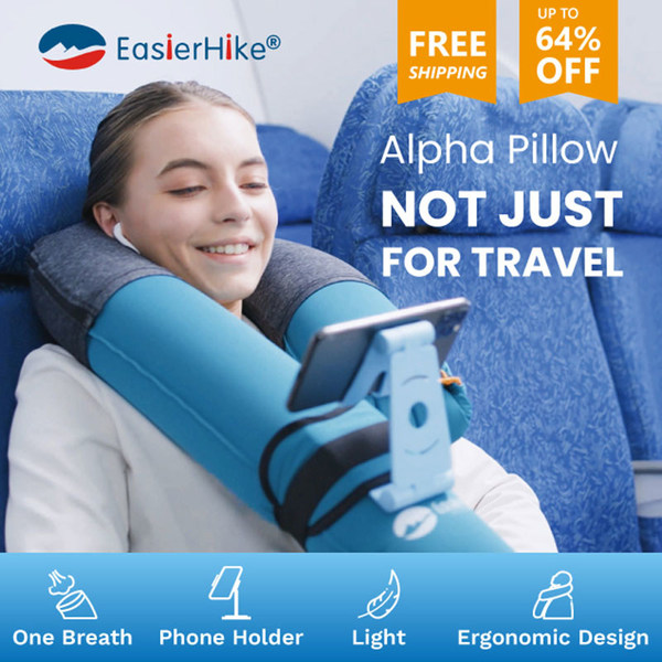 EasierHike® Alpha Pillow - Not Just For Travel
