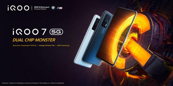 iQOO 7- Dual Chip Monster