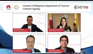 Huawei and DOT officials.