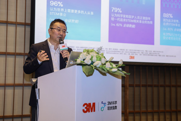 Jack Xiong, Head of R&D Operations for 3M China, introduces the 2021 3M State of Science Index China Report