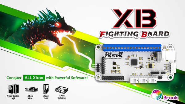 Brook XB FIGHTING BOARD. Conquer ALL Xbox Series consoles!