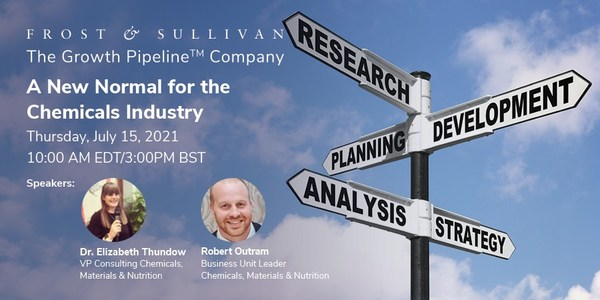 Frost & Sullivan webinar on the future of chemicals industry