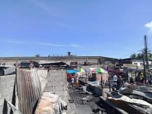 Fire guts portion of Mega Market in Cotabato City.
