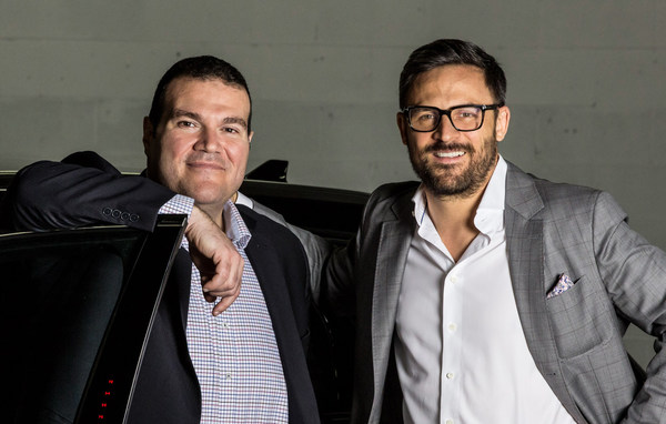 TRADE X Executive Vice President & Chief Operating Officer Luciano Butera and Chief Executive Officer Ryan Davidson