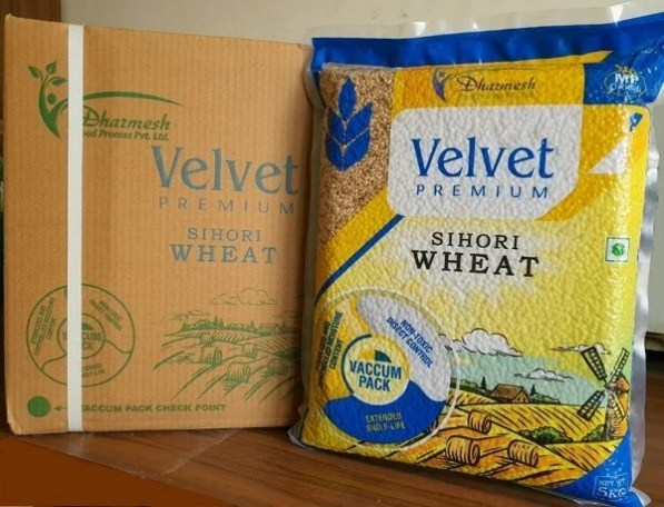 Dow and Vishakha developed the recyclable barrier film for Dharmesh Foods's vacuum-packing wheat