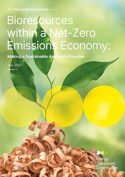 Bioresources within a Net-Zero Emissions Economy – new report from ETC