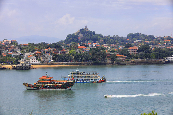Gulangyu Island in Siming district of Xiamen has been listed as a UNESCO World Heritage site since 2017.